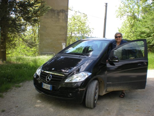 My wheels in Tuscany!