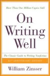 Zinsser, On Writing Well