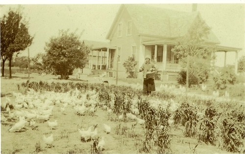 Mom's childhood home in early 1900s.