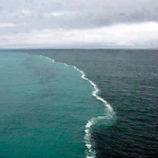 is it true that two oceans meet but do not mix ammonia