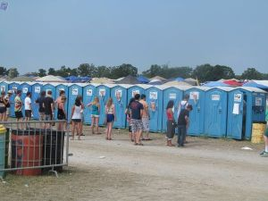 Restrooms on the premises.