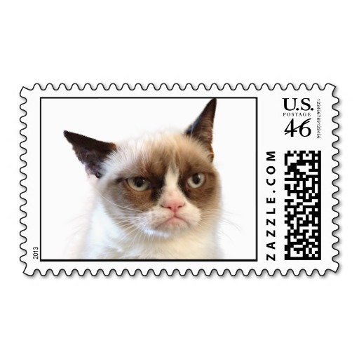 Grumpy Cat stamp