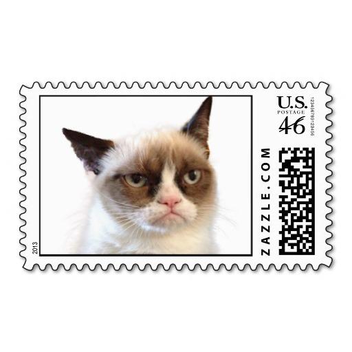 Grumpy Cat stamp