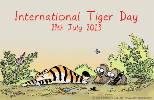 International Tiger Day-July 29, 2013