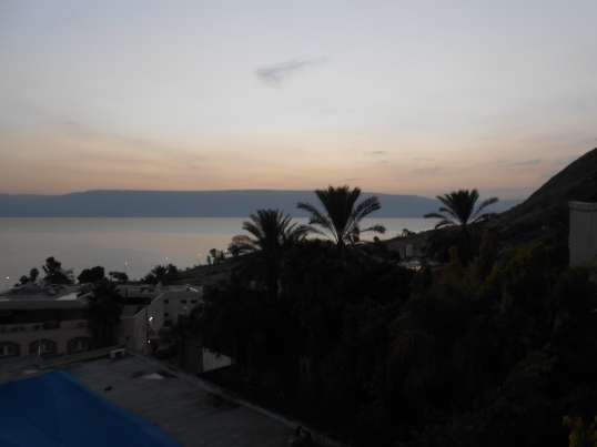 Sea of Galilee at Caperneum