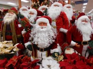 Santas....