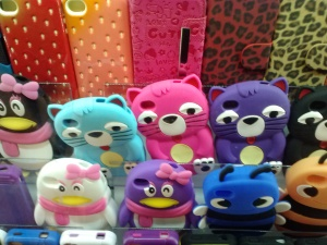 Kitty phone covers...