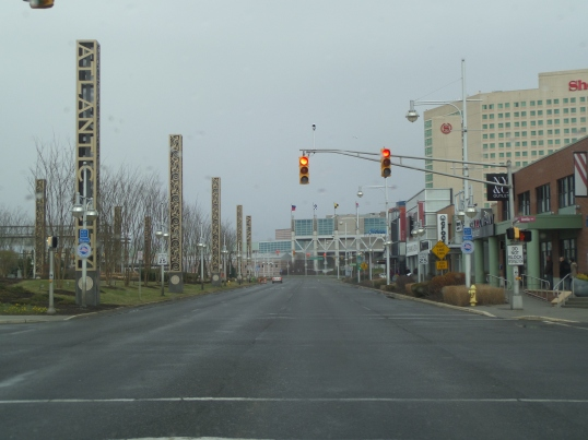 A cold, lonely December day in Atlantic City, NJ