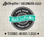 NaBloPoMo_MoreLess - Dec