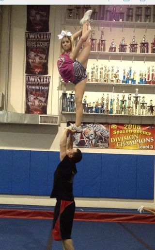 Isabelle, my granddaughter, is loose-jointed and can perform amazing feats.