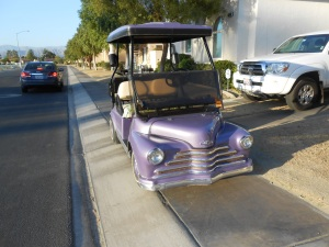 California vintage purple people picker-upper