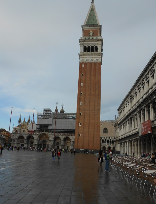 Campanile, Venice Italy. Janice Heck