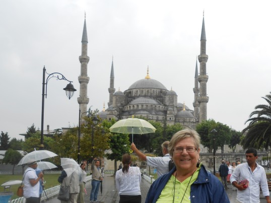 Istanbul in the Rain... but still a nice day.