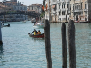 Accademia Bridge over the Grand Canal, Venice