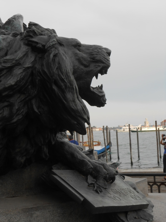 The Lion, symbol of Venice and St. Mark, patron saint of Venice. Janice Heck