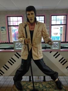 Elvis at Burger King, Buena, NJ   Janice Heck, photo
