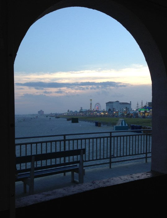 Night falling in Ocean City, NJ  Janice Heck, photo