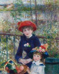 Pierre-Auguste Renoir, Two Sisters, 1879