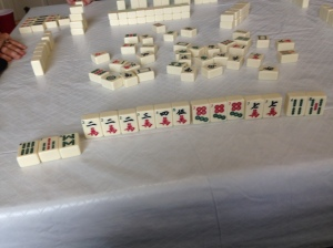 Mahjong play. Janice Heck photo