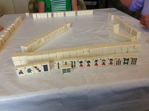 Mahjong first hand. Janice Heck photo
